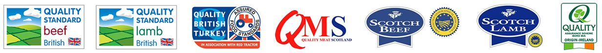 Meat Market Auctioneers - Quality Standards Logos